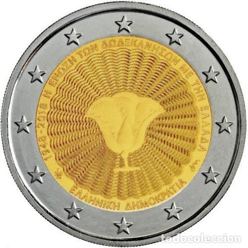 GRECIA 2018 2€ DODECANESO (Numismática - España Modernas y Contemporáneas - Ecus y Euros)