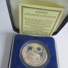 Euros: ESPAÑA ECU 1995 * PLATA ** TIN. Lote 141593826