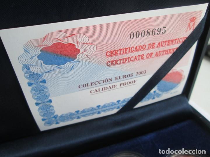 Euros: JUAN CARLOS I * COLECCION EUROS 2003 PROOF ** TIN - Foto 2 - 141609182