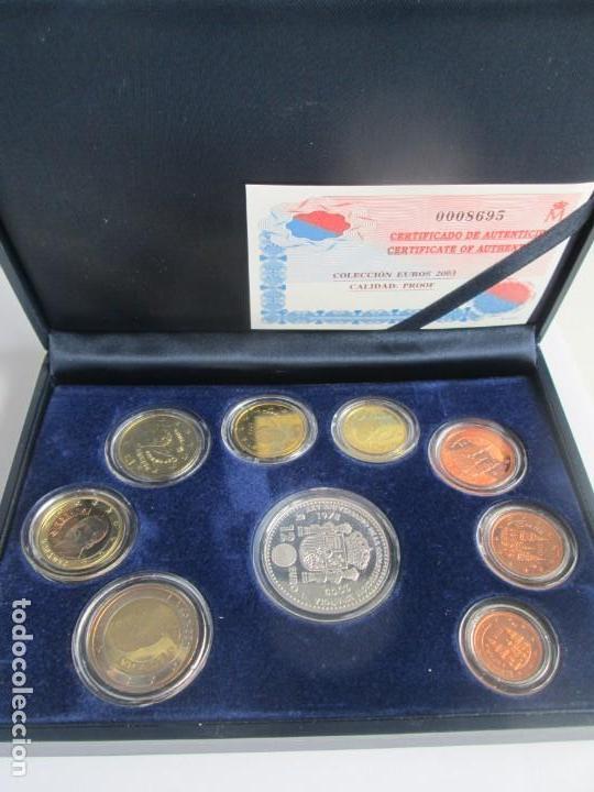 JUAN CARLOS I * COLECCION EUROS 2003 PROOF ** TIN (Numismática - España Modernas y Contemporáneas - Ecus y Euros)