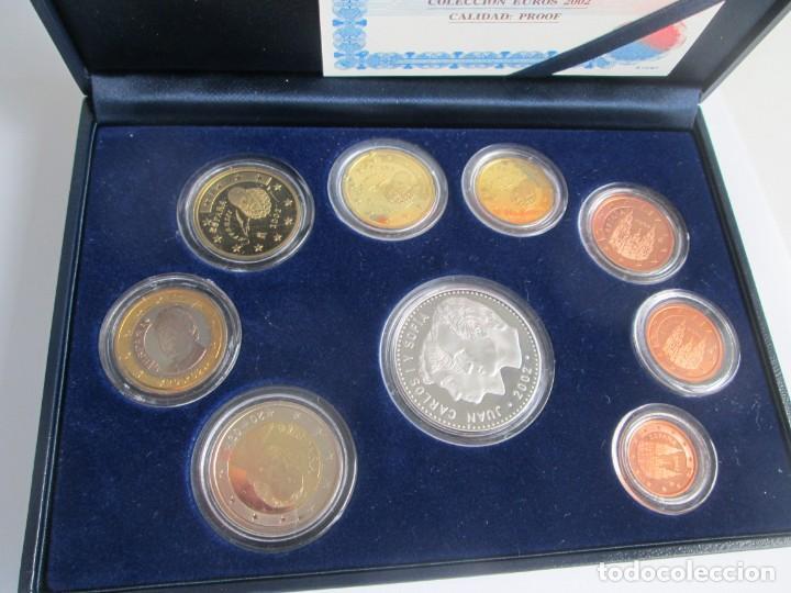 Euros: JUAN CARLOS I * COLECCION EUROS 2002 PROOF ** TIN - Foto 2 - 141609374
