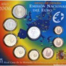Euros: CARTERA OFICIAL ESPAÑA V CENTENARIO DE COLON SET EURO 2006. Lote 141833065