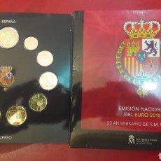 Euros: ESPAÑA CARTERA OFICIAL 2018 TRES DOS EUROS RARRA. Lote 143387478