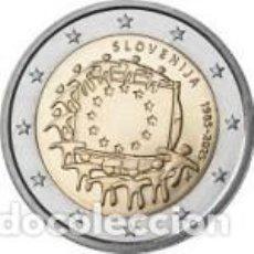 Euros: ESLOVENIA 2015.2 EUROS. XXX ANIVERSARIO DE LA BANDERA EUROPEA. S/C. Lote 194623943