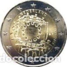 Euros: 2 EUROS HOLANDA 2015 XXX ANIVERSARIO DE LA BANDERA EUROPEA. Lote 195337117