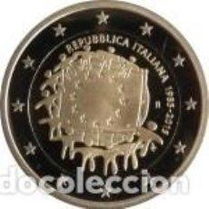 Euros: 2 EUROS ITALIA 2015 XXX ANIVERSARIO DE LA BANDERA EUROPEA. Lote 143411646