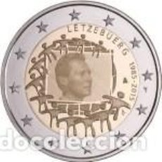 Euros: 2 EUROS LUXEMBURGO 2015 XXX ANIVERSARIO DE LA BANDERA EUROPEA. Lote 143412114