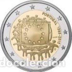 Euros: 2 EUROS PORTUGAL 2015 XXX ANIVERSARIO DE LA BANDERA EUROPEA. Lote 143412242