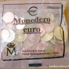 Euro: ESPAÑA 1999. MONEDERO DE EUROS. 12,02 EUROS. 43 MONEDAS EN BOLSA CERRADA. Lote 225015178