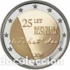 Euros: ESLOVENIA 2016. 2 EUROS. 25 ANIVERSARIO DE LA INDEPENDENCIA DE ESLOVENIA S/C. Lote 183416992