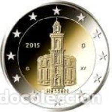 Euros: ALEMANIA 2015 2 EUROS. IGLESIA DE SAN PABLO EN FRANKFURT. Lote 195457012