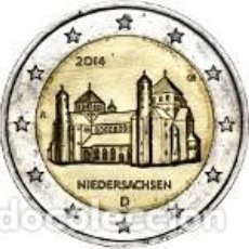 Euros: ALEMANIA 2014 2 EUROS. IGLESIA DE SAN MIGUEL DE HILDESHEIM. Lote 252093275