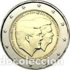 Euros: HOLANDA 2014.2 EUROS. DOBLE RETRATO. Lote 195436220