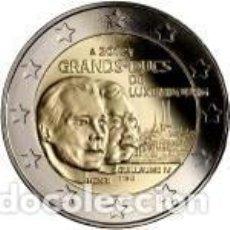 Euros: LUXEMBURGO 2012. 2 EUROS. EL GRAN DUQUE ENRIQUE Y EL GRAN DUQUE GUILLERMO IV. Lote 270194178