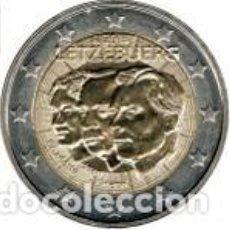 Euros: LUXEMBURGO 2011. 2 EUROS. QUINTO CENTENARIO DEL NOMBRAMIENTO DE JEAN BENOÎT COMO GRAN DUQUE HEREDERO. Lote 270194198