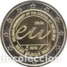Euros: BÉLGICA 2010. 2 EUROS. PRESIDENCIA BELGA DEL CONSEJO DE LA UNIÓN EUROPEA EN 2010. Lote 195407855