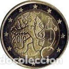 Euros: FINLANDIA 2010. 2 EUROS. DECRETO DE 1860, QUE CONCEDE A FINLANDIA EL DERECHO A EMITIR BILLETES Y MON. Lote 243897350
