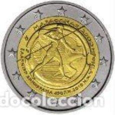 Euros: GRECIA 2010. 2 EUROS. 2.500º ANIVERSARIO DE LA BATALLA DE MARATÓN. Lote 279373463