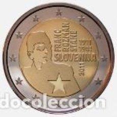 Euros: ESLOVENIA 2011. 2 EUROS. CENTENARIO DEL NACIMIENTO DE FRANC ROZMAN-STANE. Lote 183417182