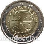BÉLGICA 2 EUROS CONMEMORATIVOS EMU 2009 (Numismática - España Modernas y Contemporáneas - Ecus y Euros)