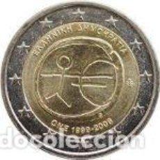 Euros: GRECIA 2 EUROS CONMEMORATIVOS EMU 2009. Lote 279373148