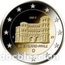 Euros: ALEMANIA 2017. 2 EUROS. ESTADO DE RENANIA-PALATINADO. PORTA NIGRA. Lote 195408136