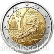 Euros: ITALIA 2006. 2 EUROS. JUEGOS OLÍMPICOS DE INVIERNO TURÍN 2006. Lote 143920262