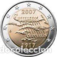 Euros: FINLANDIA 2007. 2 EUROS. 90º ANIVERSARIO DE LA INDEPENDENCIA DE FINLANDIA. Lote 177743739