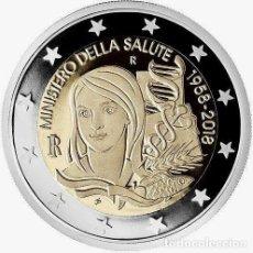 Euros: 2 EUROS CONMEMORATIVA ITALIA 2018 SALUD SC. Lote 147483812