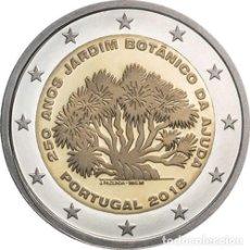 Euros: 2 EUROS CONMEMORATIVA PORTUGAL 2018 JARDIN BOTANICO SC. Lote 147483800