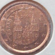 Euros: 1 CÉNTIMO ESPAÑA 2000, EXCELENTE ESTADO DE CONSERVACIÓN,EBC. Lote 116163619
