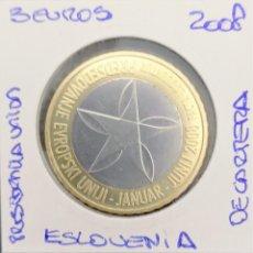 Euros: 3 EUROS - ESLOVENIA 2008 - PRESIDENCIA DE LA UNION SIN CIRCULAR. Lote 145235606