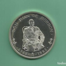 Euros: PLATA-ESPAÑA. 5 ECU 1993. HOMENAJE A D.JUAN DE BORBÓN. Lote 145312670