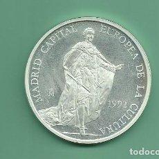 Euros: PLATA-ESPAÑA. 5 ECU 1992. MADRID CAPITAL EUROPEA DE LA CULTURA. Lote 145313906