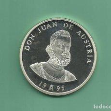 Euros: PLATA-ESPAÑA. 5 ECU 1995. DON JUAN DE AUSTRIA. Lote 145314418