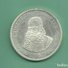 Euros: PLATA-ESPAÑA. 5 ECU 1994. CERVANTES. Lote 145315798