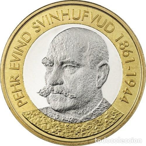 FINLANDIA 5€ 2016 SERIE PRESIDENTES – P.E. SVINHUFVUD (Numismática - España Modernas y Contemporáneas - Ecus y Euros)