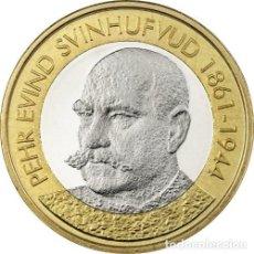 Euros: FINLANDIA 5€ 2016 SERIE PRESIDENTES – P.E. SVINHUFVUD. Lote 145739658