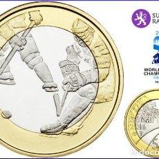 Euros: FINLANDIA 5€ DEPORTES – HOCKEY SOBRE HIELO. Lote 165231428