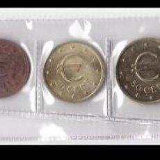 Euros: ESPAÑA: SERIE COMPLETA 8 VALORES EUROS DE PRUEBA ( CHURRIANA ). Lote 145898190