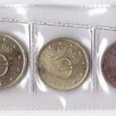 Euros: ESPAÑA: SERIE COMPLETA 8 VALORES EUROS DE PRUEBA ( CHURRIANA ). Lote 146386994