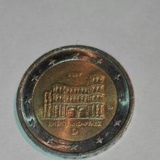 Euros: ALEMANIA 2 EURO AÑO 2017. CONM RHEINLAND-PFALZ CECA D. MBC+. Lote 146696014