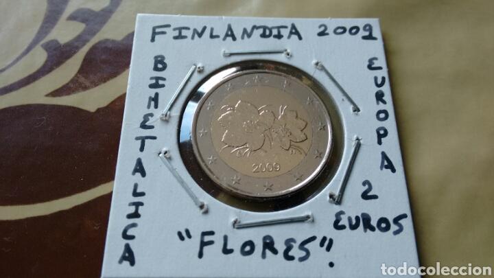 MONEDA 2 EUROS FINLANDIA 2009 MBC ENCARTONADA (Numismática - España Modernas y Contemporáneas - Ecus y Euros)