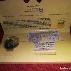 Euros: CAPITALES DE PROVINCIA - ALICANTE - 5 EUROS PLATA - PERFECTA, CON SU ESTUCHE Y CERTIFICADO. Lote 147536474