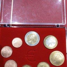 Euros: SET MONEDAS SPECIMEN EUROS VATICANO 2005 VACANTE . Lote 147754070