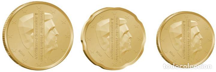 SET / TRIO EUROS HOLANDA 2014 10, 20 Y 50 CENT (Numismática - España Modernas y Contemporáneas - Ecus y Euros)