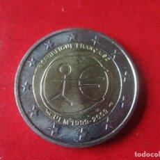 Euros: FRANCIA. 2 EUROS 2009. 10 ANIV. DEL INICIO DA LA UEM. SIN CIRCULAR. Lote 151713250