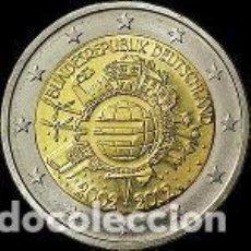 Euros: ALEMANIA 2012 2 EUROS 10 ANIVERSARIO TYE. 5 CECAS S/C. Lote 177743512