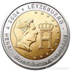 Euros: 2 EUROS CONMEMORATIVA LUXEMBURGO 2004 ENRIQUE SC. Lote 224350690