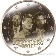 Euros: 2 EUROS CONMEMORATIVA LUXEMBURGO 2012 BODA SC. Lote 149977654